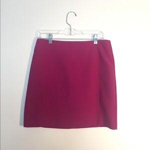 LOFT Magenta Skirt